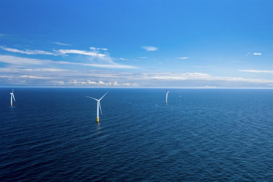 Scotland has nearly 900MW of operational offshore wind capacity, including world's first floating wind farm, Hywind (pic credit: Equinor)