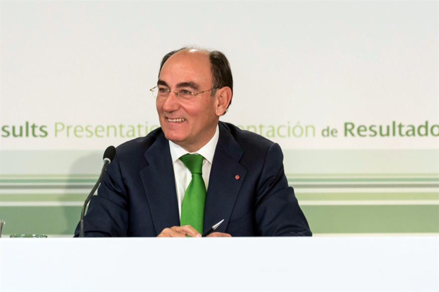 Iberdrola chairman Ignacio Galán