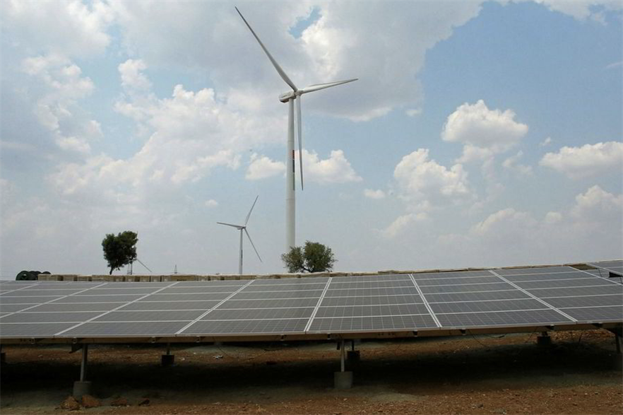 India's tranche 4 wind-solar hybrid tender saw a shift from private developers to public utilities (pic credit: Hero Future Energies)