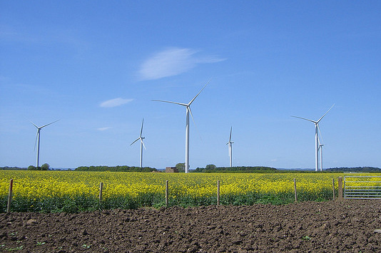 Infinis owns and operates 16 wind projects across the UK