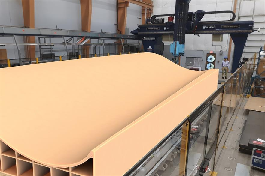Researchers will use the world's largest polymer 3D printer to develop recyclable wind blade moulds that reduce lead times and costs