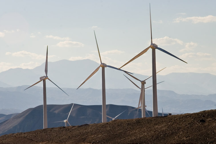 Iran currently has approximately 141MW of installed wind power
