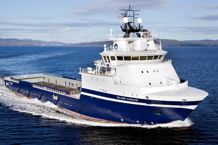 Island Offshore has taken delivery of the Island Condor support vessel