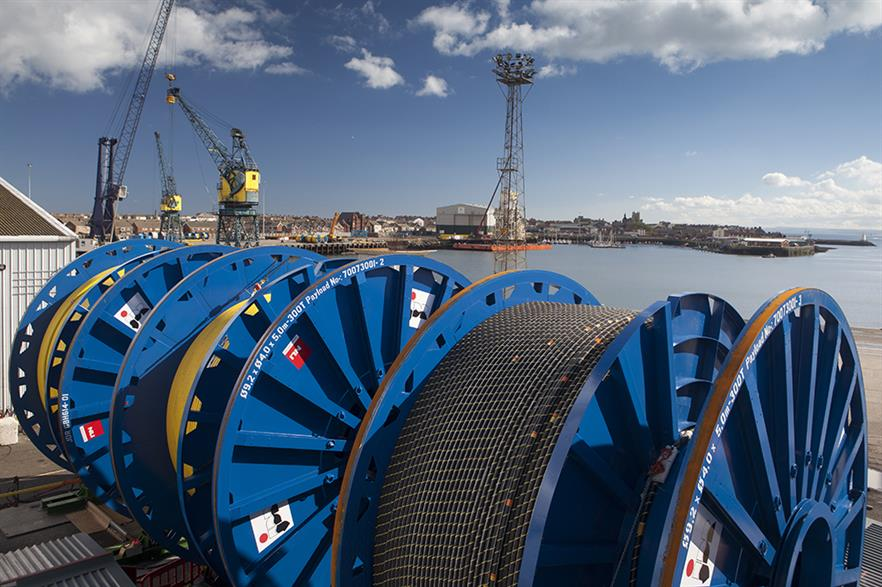 JDR has been contracted to supply Rampion's inter array cables