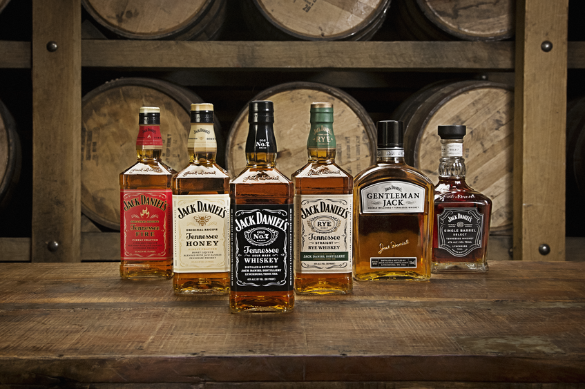 Brown-Forman produces Jack Daniels whiskey, among other spirits and wines