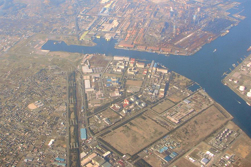 SB Energy has pulled out of a project set for the port area of Kamisu, Ibaraki (Pic: P199 at Wikimedia Commons)
