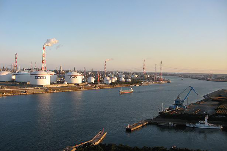 Marubani has halted development of a project in Kashima Port (pic: Onyo at WTS Wikivoyage)