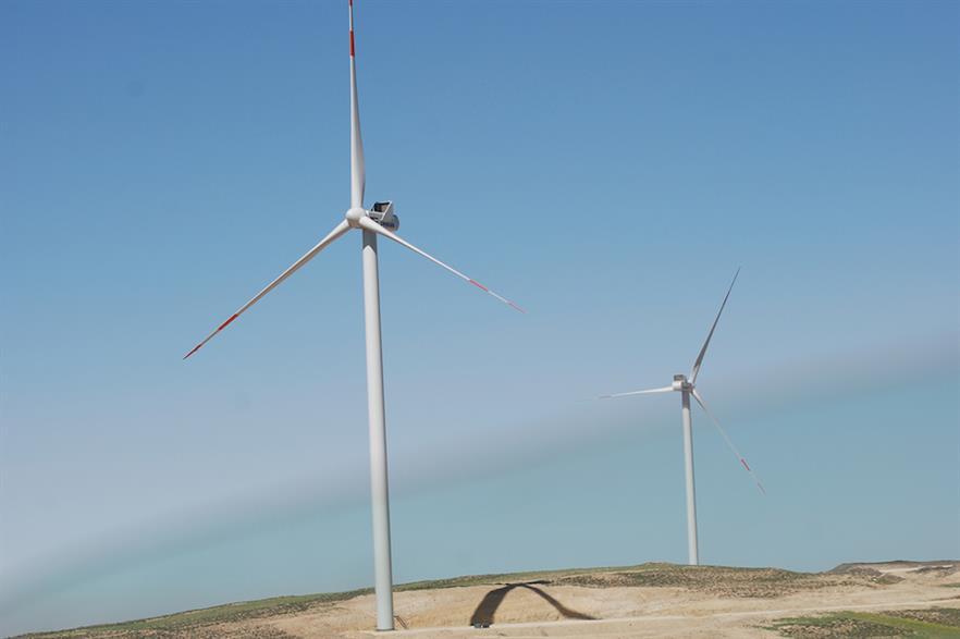 Vestas entered the Jordanian market by building the 114MW Al Tafila wind farm (pic credit: Jordan Wind Project Company)