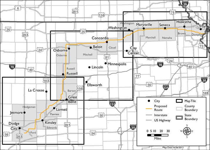 Over subscribed: Grain Belt Express Clean Line, which starts in Kansas
