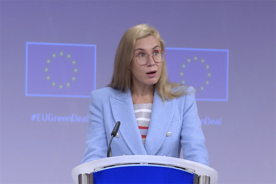 Energy Commissioner Kadri Simson unveiled the 'toolbox' for the EU and its member states today (13 October)