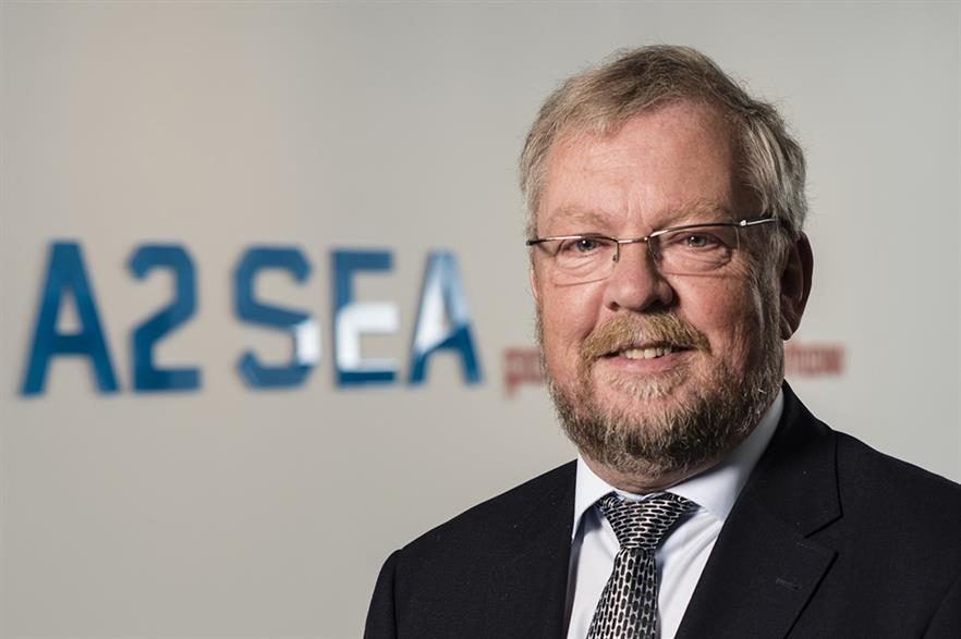Kaj Lindvig, senior adviser and former CEO and CSO at A2Sea
