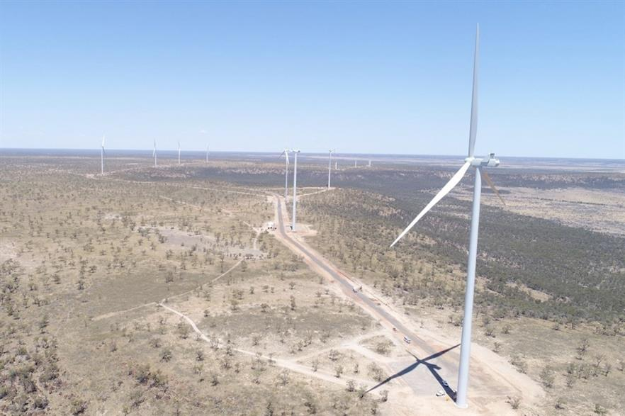 Irena forecasts the global weighted-average electricity cost for onshore wind will fall by a further 18% between 2019 and 2021 (pic credit: Windlab)