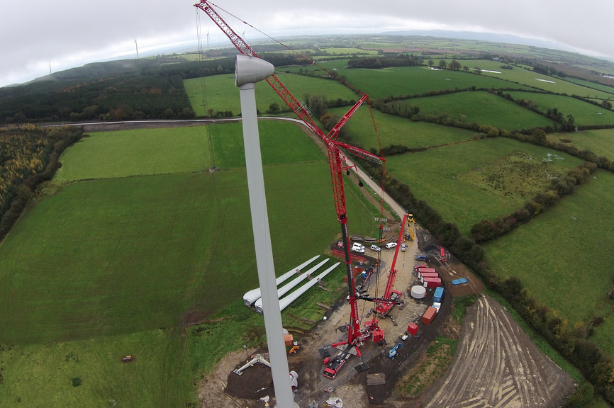 Greencoat has acquired the Killhills site in Tipperary (pic: Crane Hire Ltd)