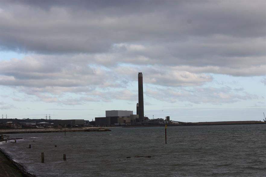 The facility would be built at AES's Kilroot power plant