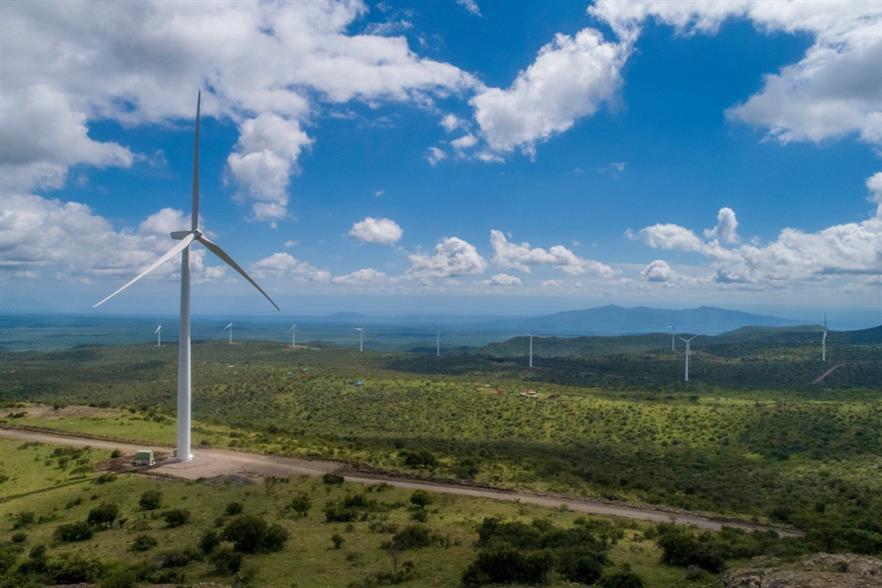 BTE Renewables and Craftskills' Kipeto wind farm consists of 60 GE 1.7-103 turbines