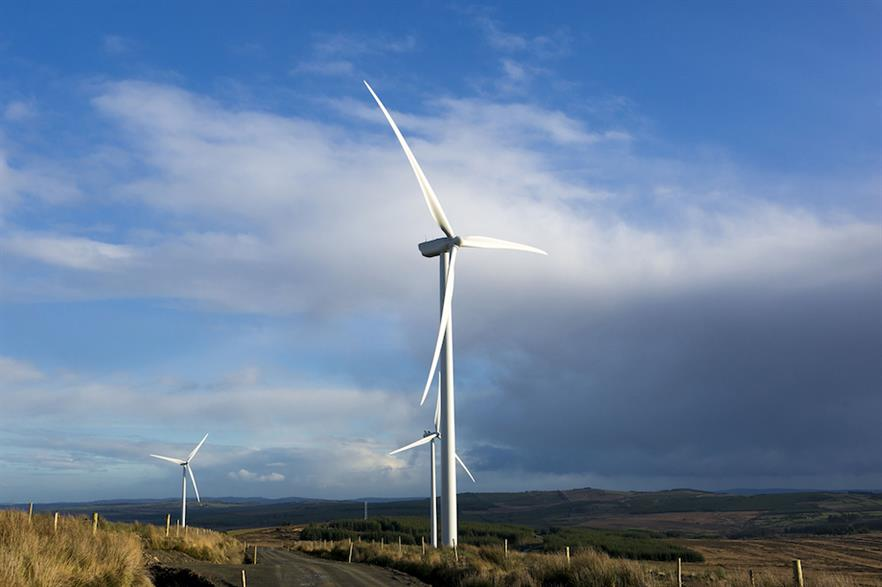 The Irish wind sector's output exceeded that of gas-fired generation in both Q1 and Q4 2020 (pic credit: Invis Energy)