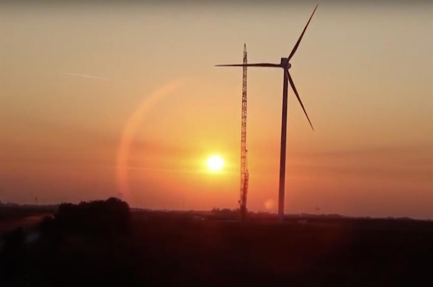 Fintel Energija's 9.9MW Kula wind farm in Vojvodina, Serbia