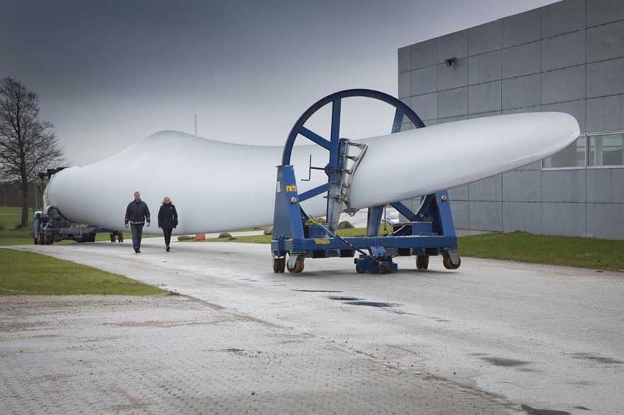 Bureau Veritas will certify LM Wind Power's blades