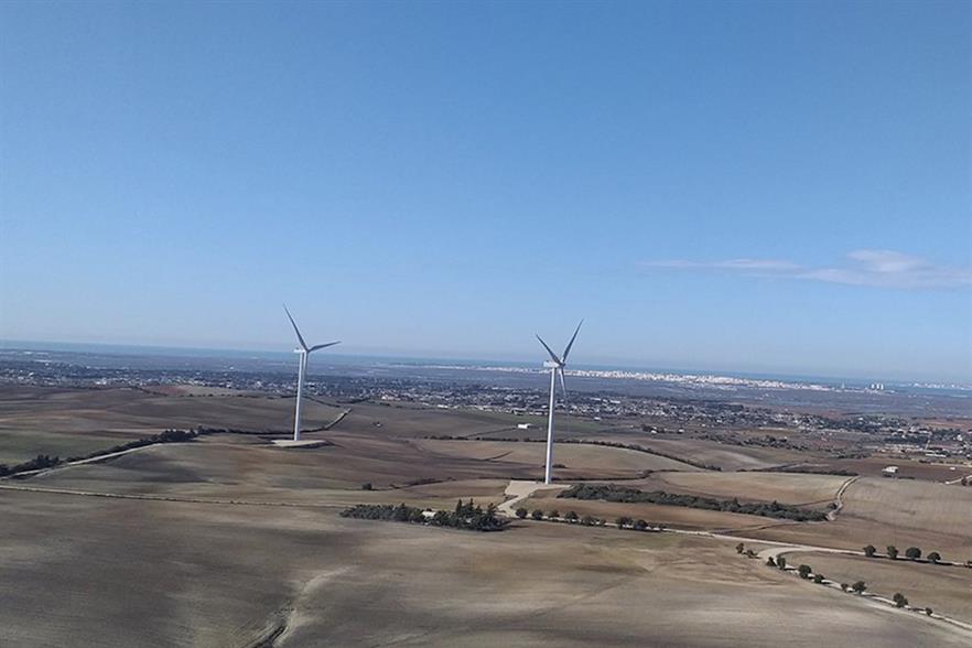 Viesgo's wind portfolio includes the 23.21MW La Victoria project in Cádiz, which was commissioned in 2009