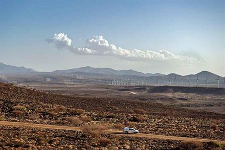 Lake Turkana in Kenya, Africa's biggest wind farm at 310MW, is still waiting for grid connection