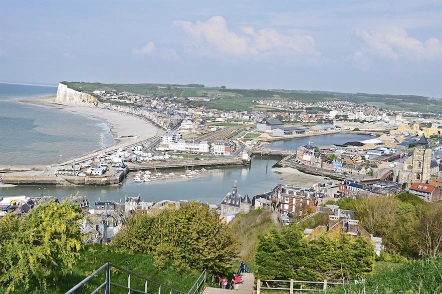 The Dieppe-Le Tréport wind farm, being developed by a consortium including EDP and Engie, would be built off Le Tréport, northern France (pic: Philippe Alès)