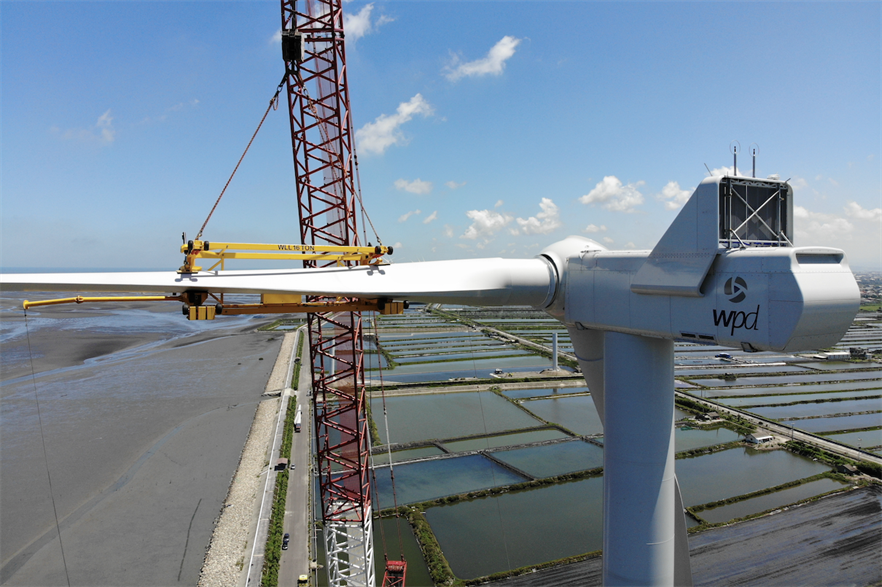 Wpd has previously helped to develop wind farms in Asia Pacific, including the Leadway project in Taiwan