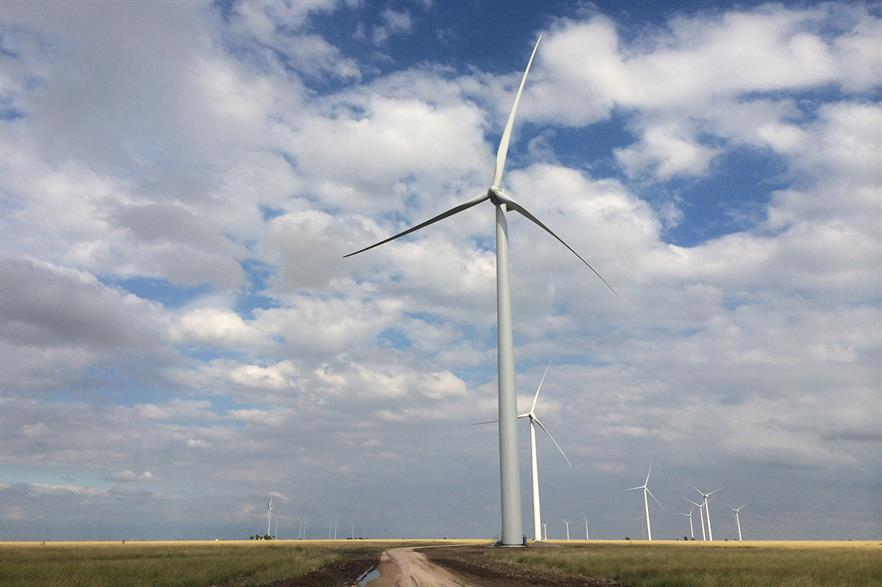 Lincoln Clean Energy developed the 300MW Jumbo Road Wind site in Texas to the construction phase