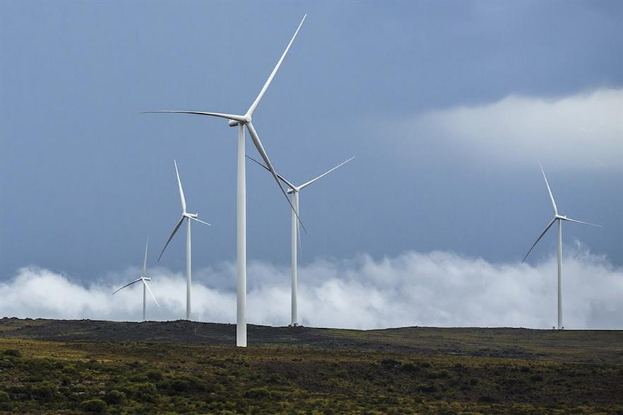 The 140MW Loeriesfontein project in South Africa's Northern Cape (pic: SAWEA)