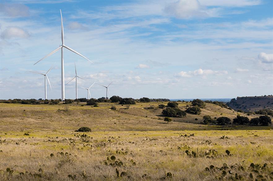 Pattern Energy's Logan's Gap wind farm (above) comprises 87 of Siemens Gamesa's SWT-2.3-108 turbines