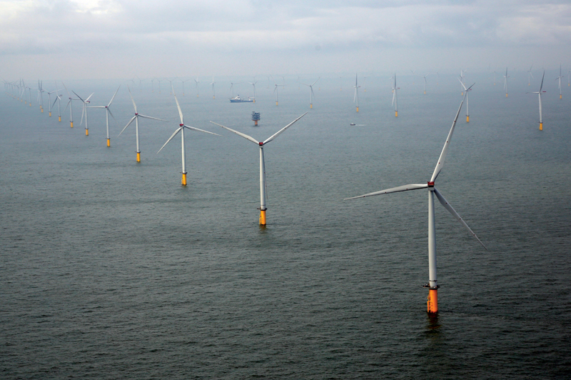 London Array, the UK's current largest offshore wind farm, will be surpassed by the three newly contracted projects