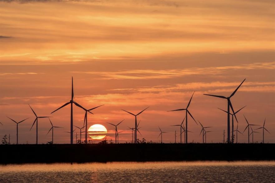 Duke Energy's 912MW Los Vientos wind power complex in Texas