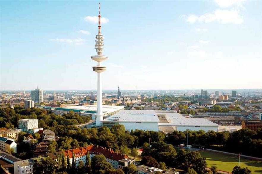 Hamburg… Every two years, WindEnergy Hamburg and WindEurope hold a joint event in the Hanseatic city (pic: Hamburg Nesse and Congress)
