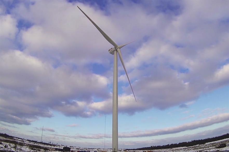 A prototype V184-8MW turbine has been operating at Osterild, Denmark, since January 2014