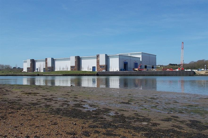 MHI Vestas' West Medina Mills facility on the Isle of Wight (pic: Wikimedia Commons)