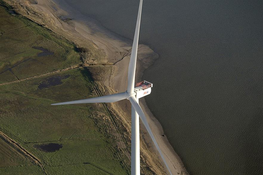 MHI Vestas V164 is set to be installed at the EOWDC project on suction bucket foundations