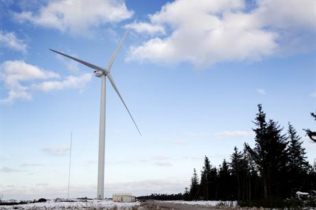 The MHI-Vestas V164-8MW could be installed at the Walney Extension