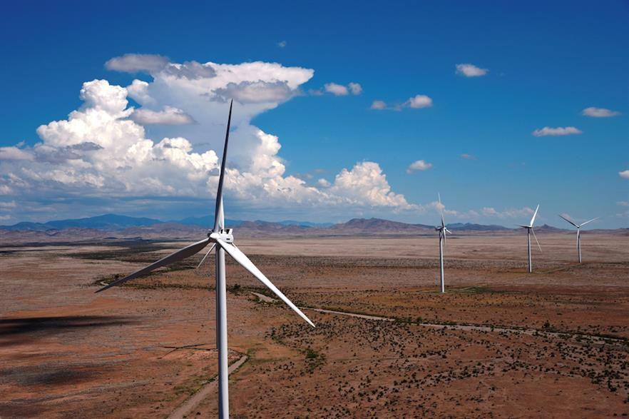 The New Frontier Wind project would add to Capital Power's US sites, Macho Springs (above) and Bloom Wind (pic credit: Capital Power)
