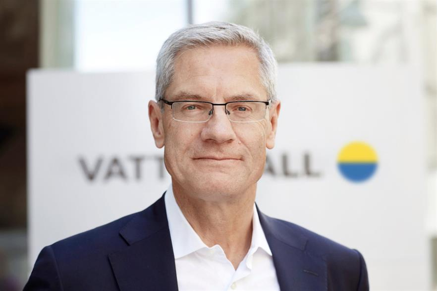 Vattenfall CEO Magnus Hall had as one of Eurelectric's two vice presidents over the last two years