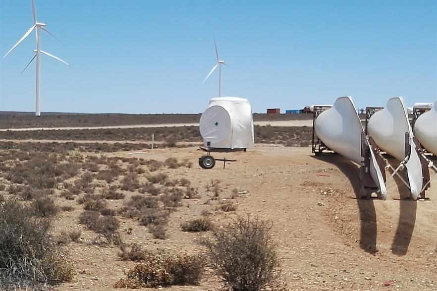 SGRE supplied turbines to four Mainstream projects in South Africa (pic: Mainstream Renewable Power)