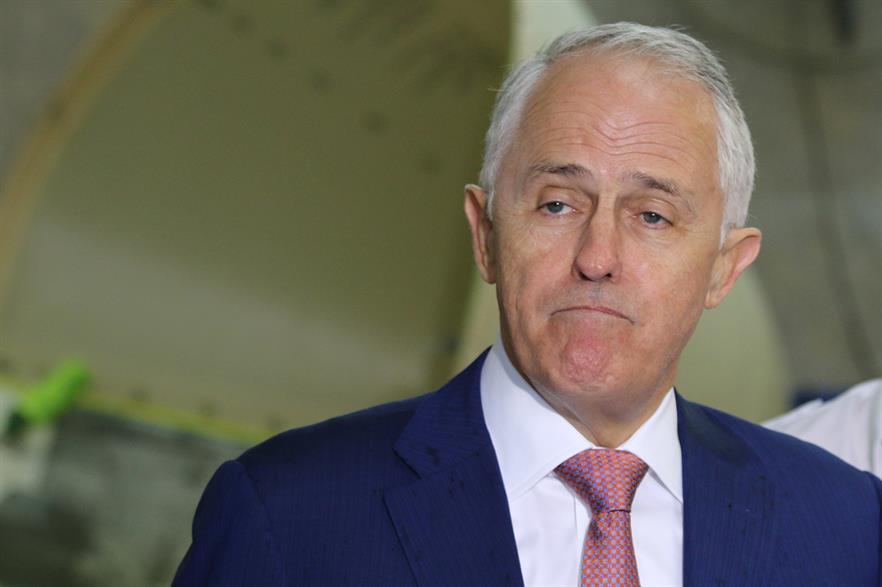 Australian prime minister Malcolm Turnbull (pic: Jaraullo / WikiCommons)