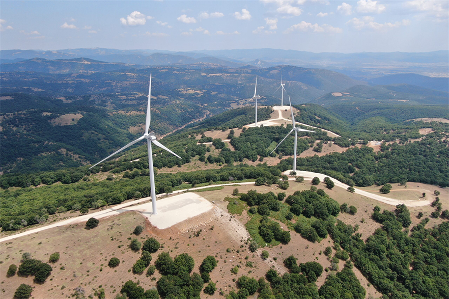 Total Eren's 14.4MW Mandra wind farm in north-east Greece came online in 2020