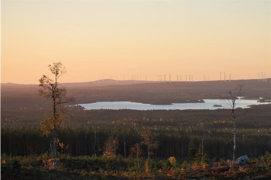 Markbygden could be Europe's largest onshore wind farm when completed (pic: Svevind)