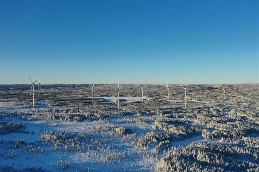 The Markbygden project in north-east Sweden (pic credit: Enercon)