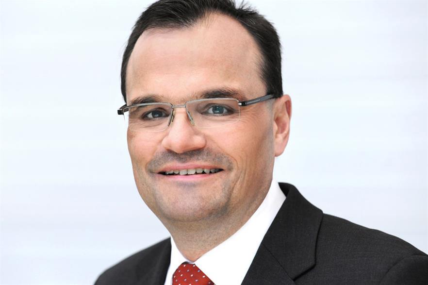 Siemens Wind Power CEO Markus Tacke