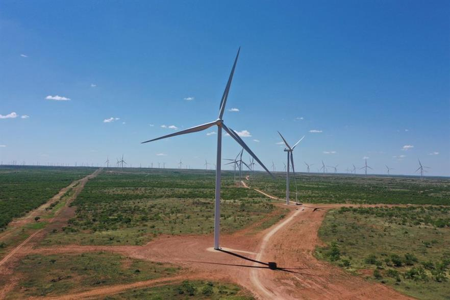 Clearway Energy's 419MW Mesquite Star was the largest wind farm commissioned in June 2020, according to Windpower Intelligence