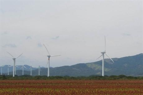 The government is looking to source 35% of the country's electricity from renewable sources by 2024