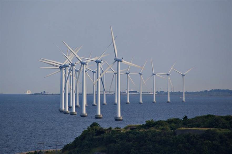 Denmark already has near-shore capacity in the shape of 40MW Middelgrunden