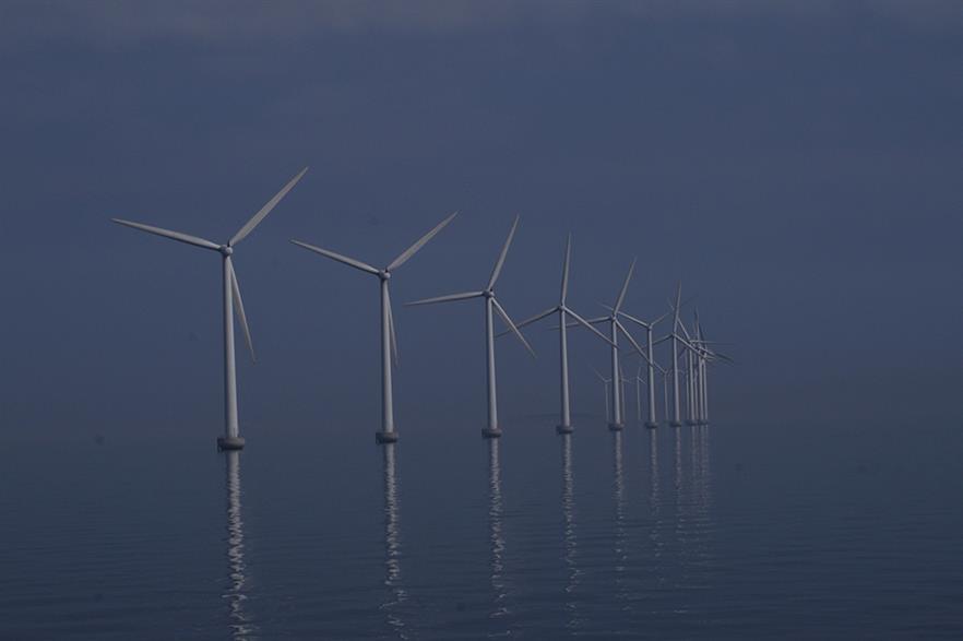 Denmark's 40MW Middelgrunden nearshore project