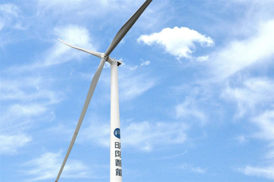 MingYang installed a prototype of a. 5.2MW onshore wind turbine earlier this year