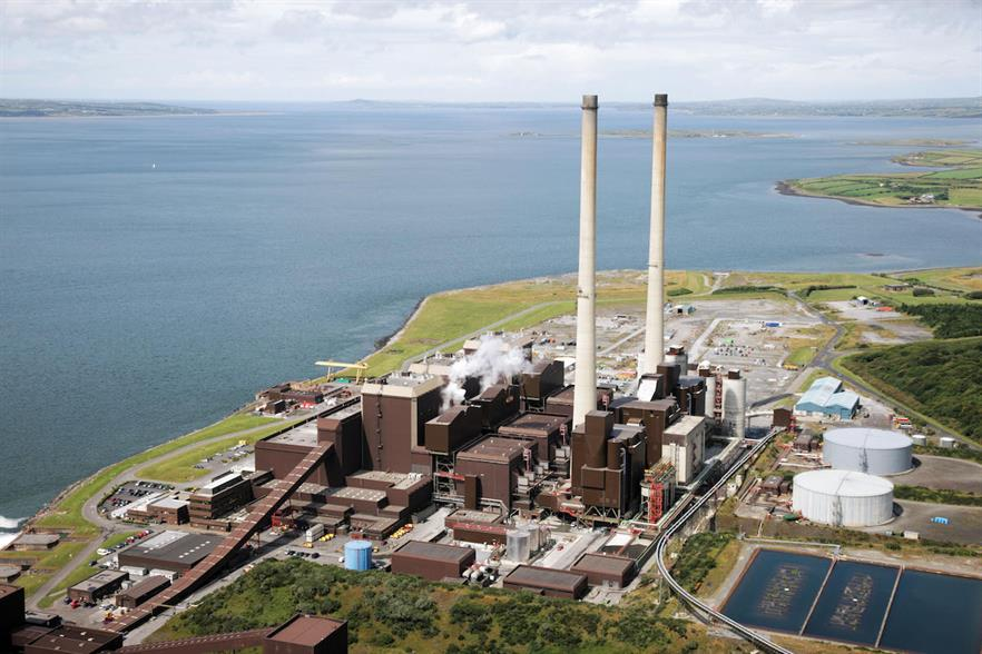 ESB expects the Moneypoint coal plant to be decommissioned in 2025
